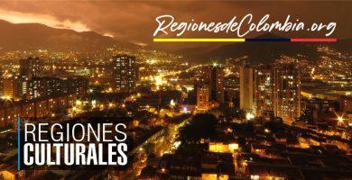 caracteristicas de las regiones culturales de colombia