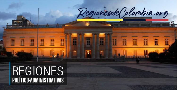division politicoadministrativa de colombia