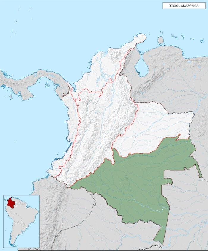 donde queda la amazonia de colombia