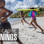 region caribe explicada para niños