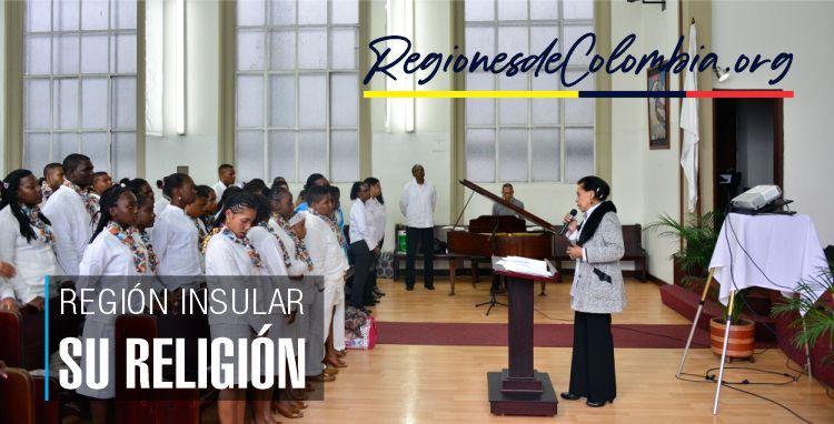cual es la religion de la region insular
