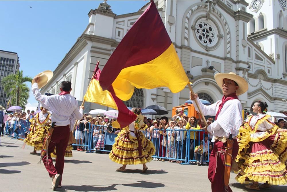 cuáles son las regiones más pobladas de colombia